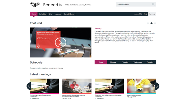 Senedd.tv - Watch the National Assembly for Wales