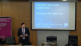 #BIMR2014 - Creating the Voter Generation: Getting on the Right Track