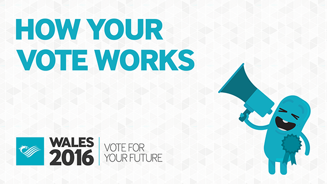 Wales 2016 - How your vote works